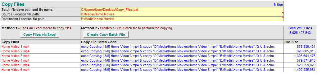 Copy Multiple Files | Excel Programs and VBA Tips